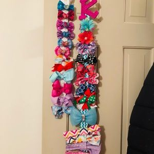 26 girl hair bows